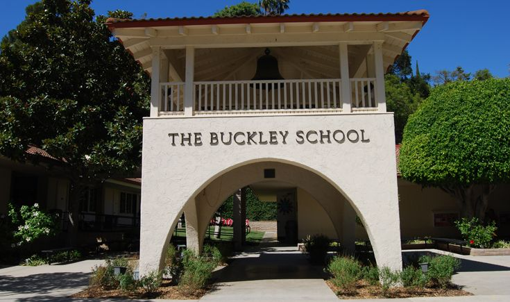 Buckley's Bell Tower has welcomed visitors to the school since 1965.
