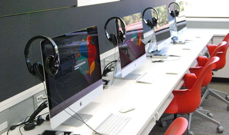 All digital media stations are equipped with software for music composition and sound editing.