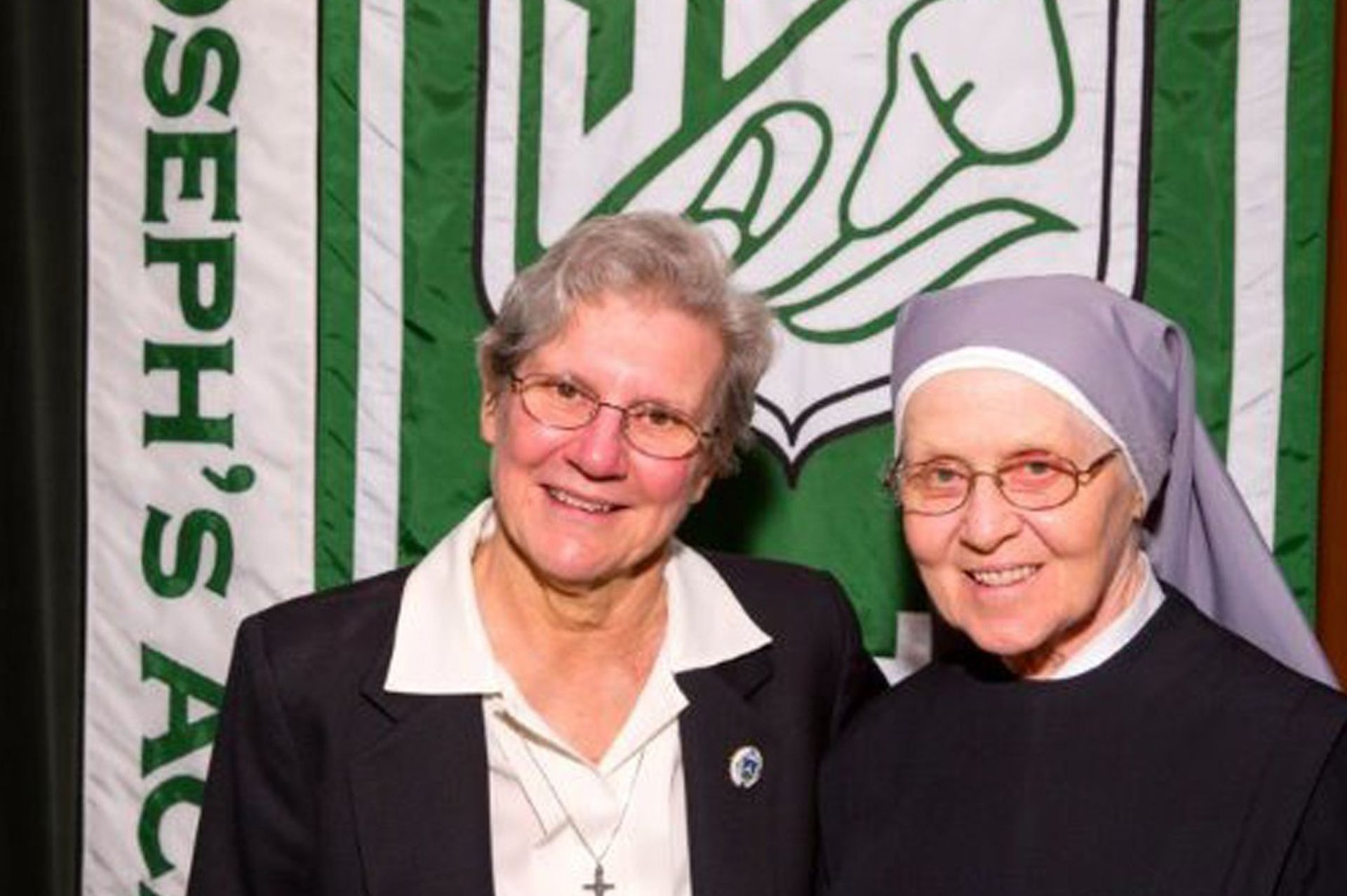 Sr. Volk and Sr. Cyrille