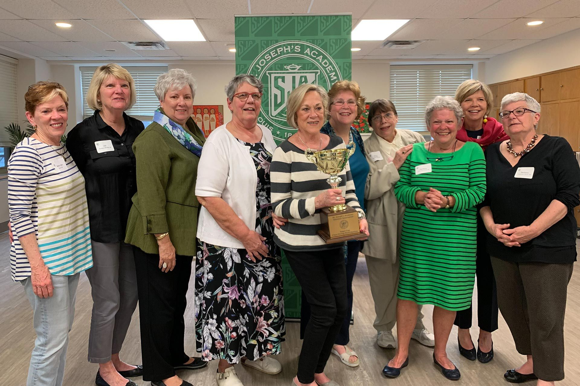 Congratulations to the Class of 1968 who were the winners of last year's Angel Cup Reunion Giving Challenge. Their class reached the highest level of giving participation out of all 2018 reunion classes with 61% participation!