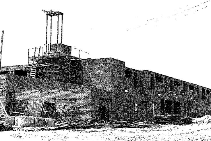 Lutheran North under construction