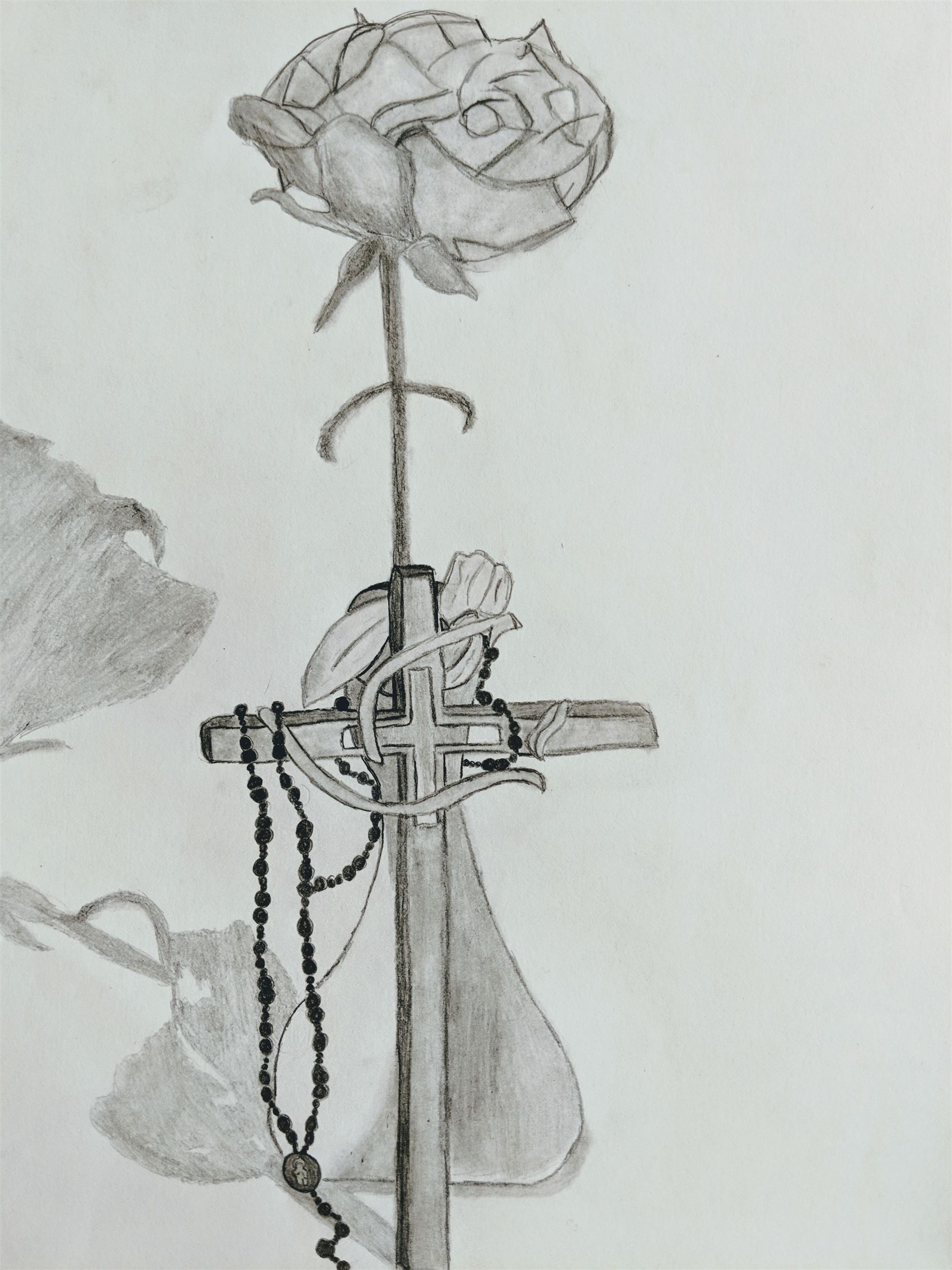 10 - Rose with Cross