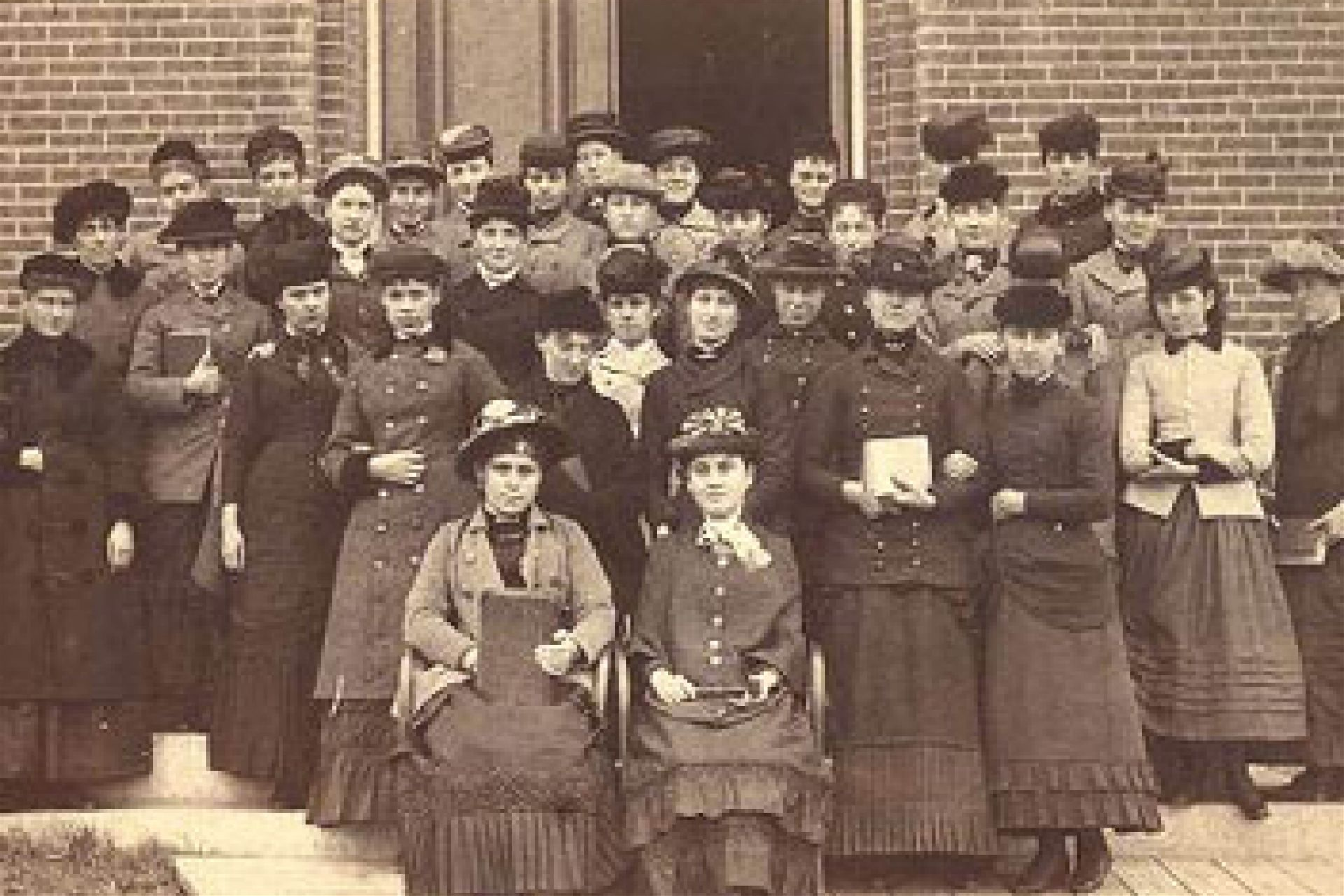 A female collegiate institute opens, offering degrees to women until 1909.