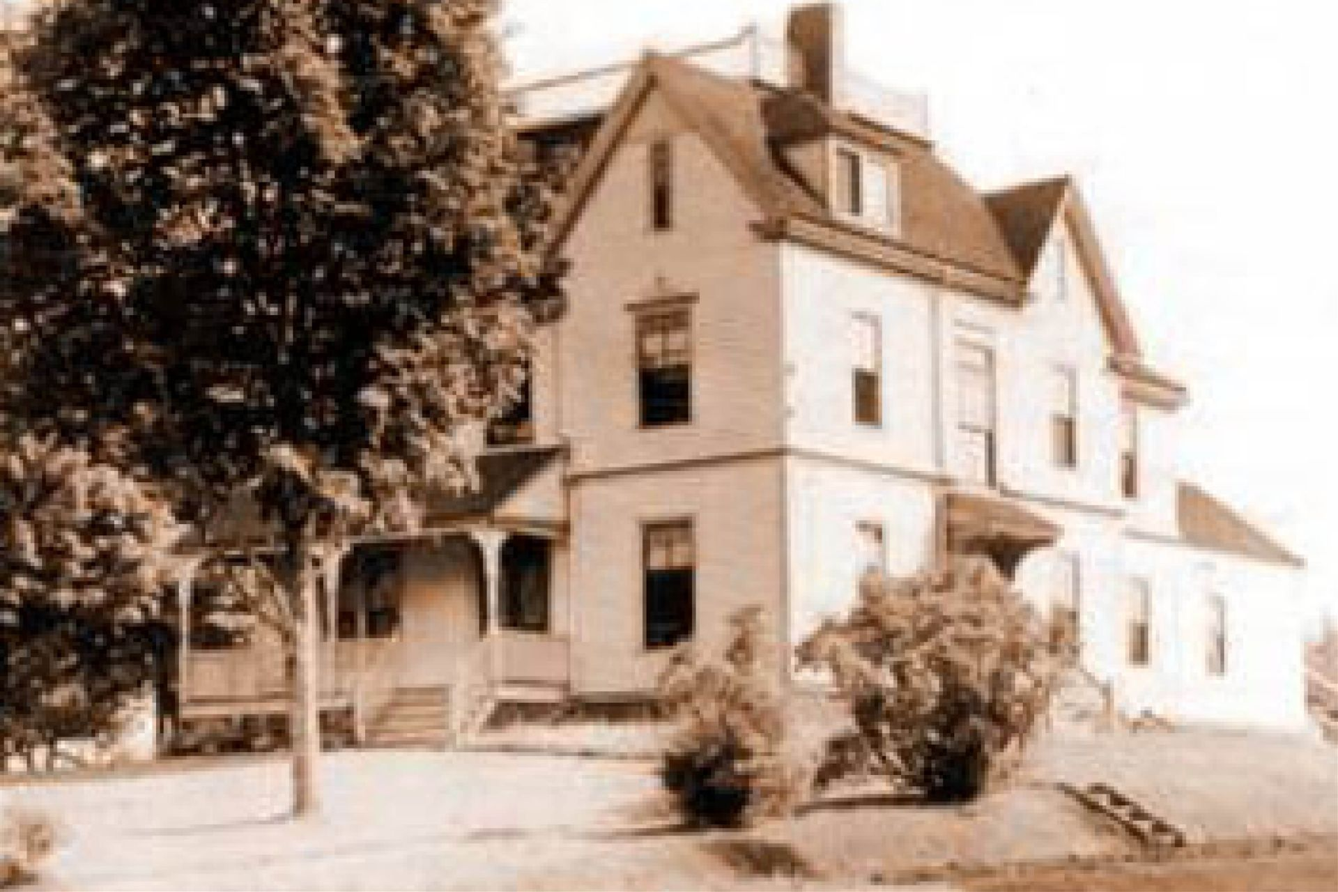 Blethen House, named after Alden Blethen who would go on to co-found the Seattle Times.