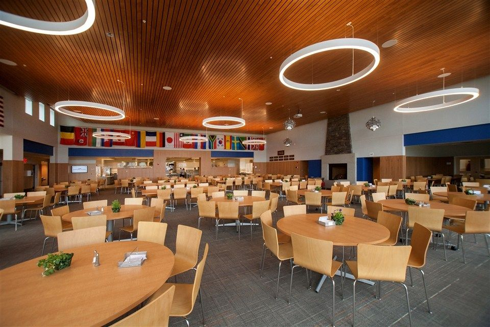 The Bibby and Harold Alfond Dining Commons