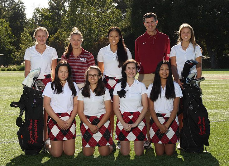 SHP Girls Golf Varsity 2017-18