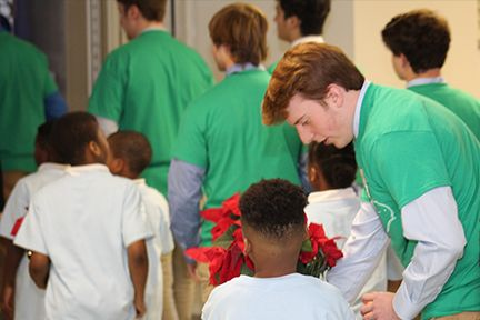 Christmas on Campus with Corryville Catholic