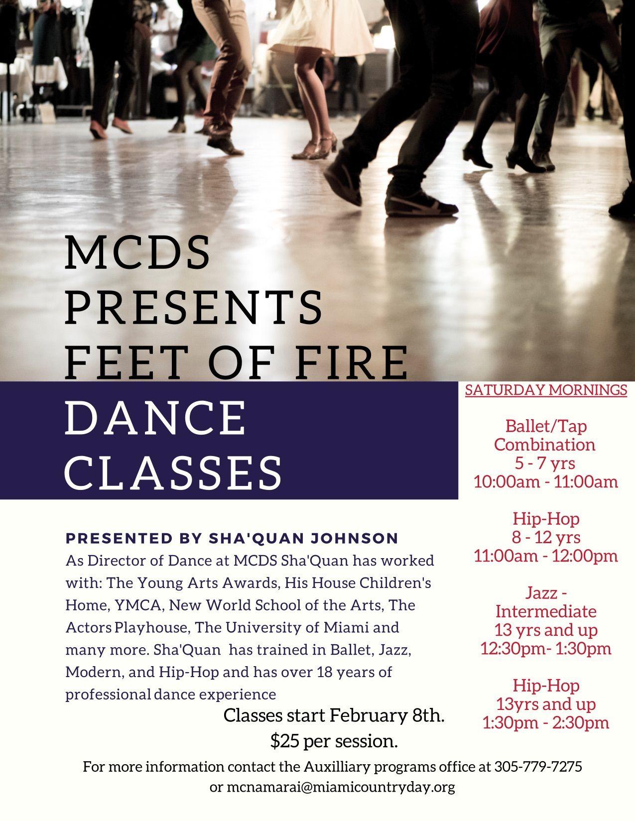 Feet of Fire Dance Classes