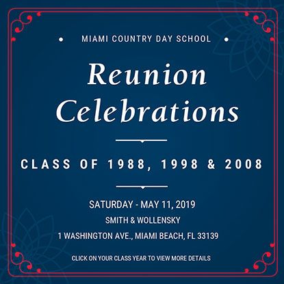 Miami Country Day School | Alumni Reunion