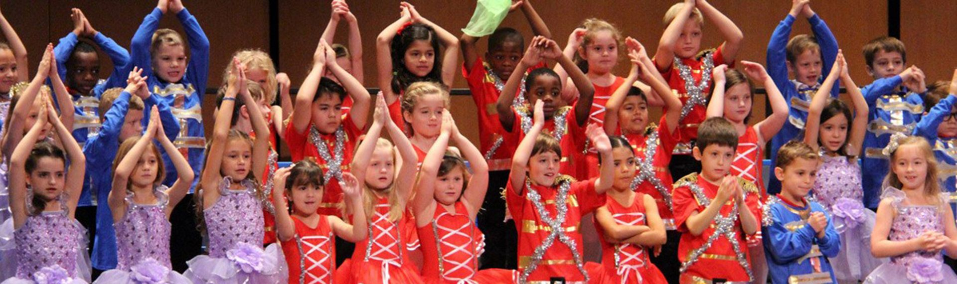 Lower School students performance at choir concert.