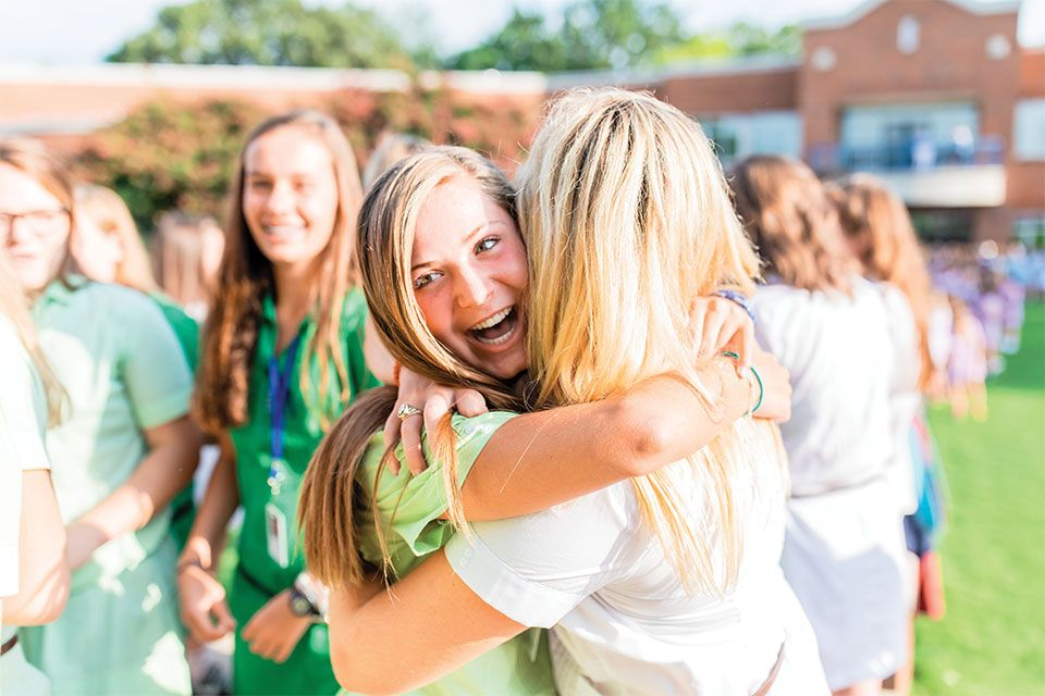 At GPS friendships are built to last a lifetime, and respect and support are at the core of every relationship among students, faculty, and staff.