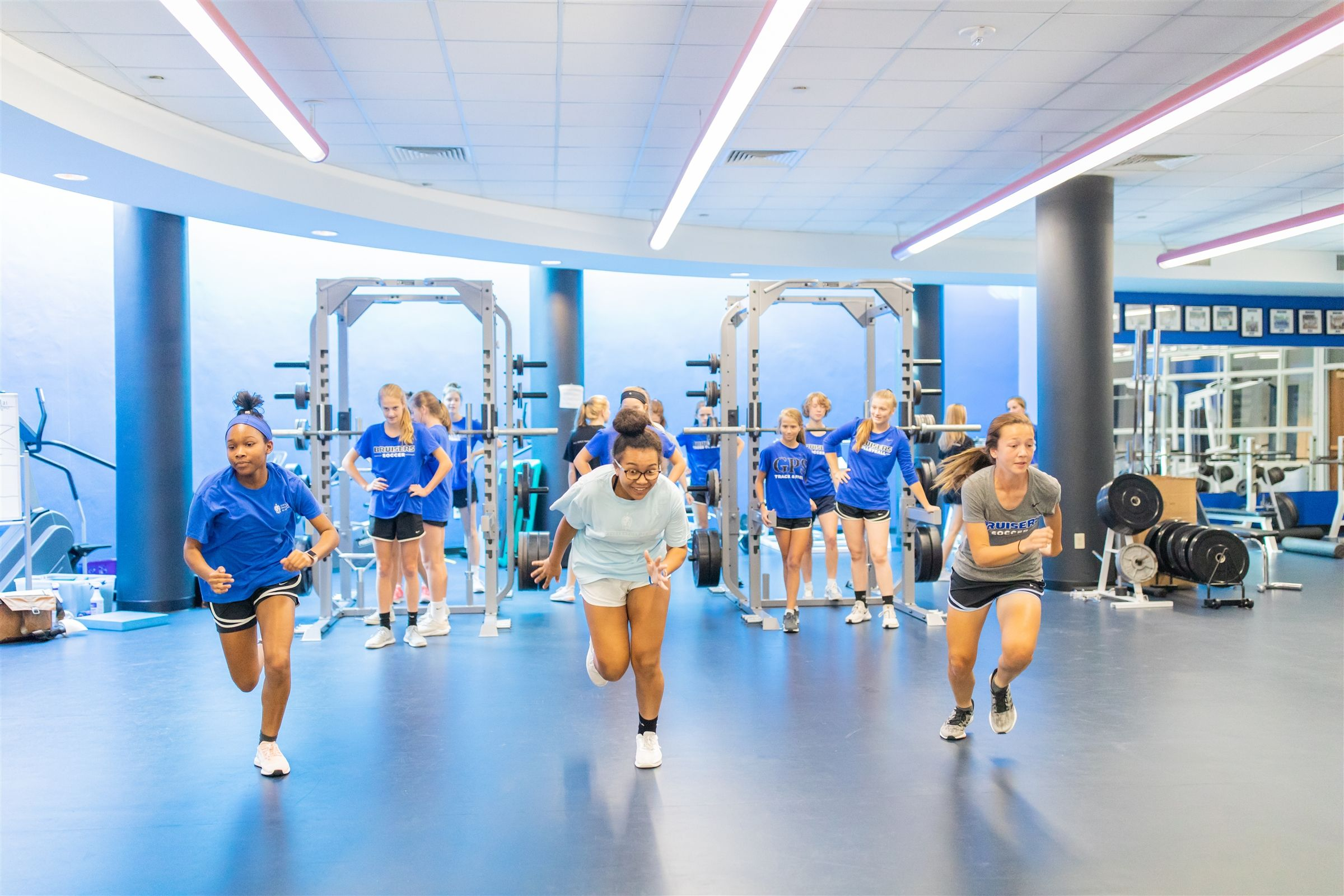 Our strength and conditioning program is the only all-female program in the Chattanooga area with two nationally certified coaches.