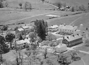 Millbrook's campus in 1936