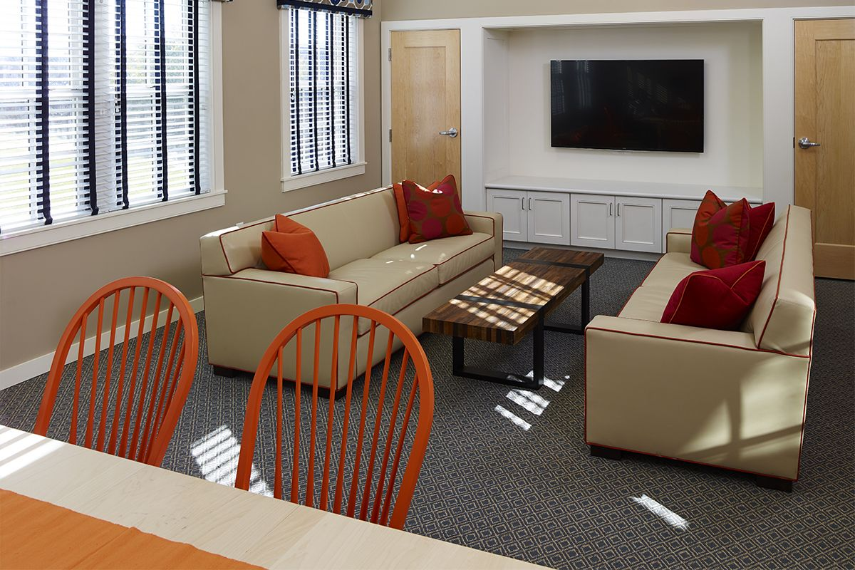 West Hall upper lounge