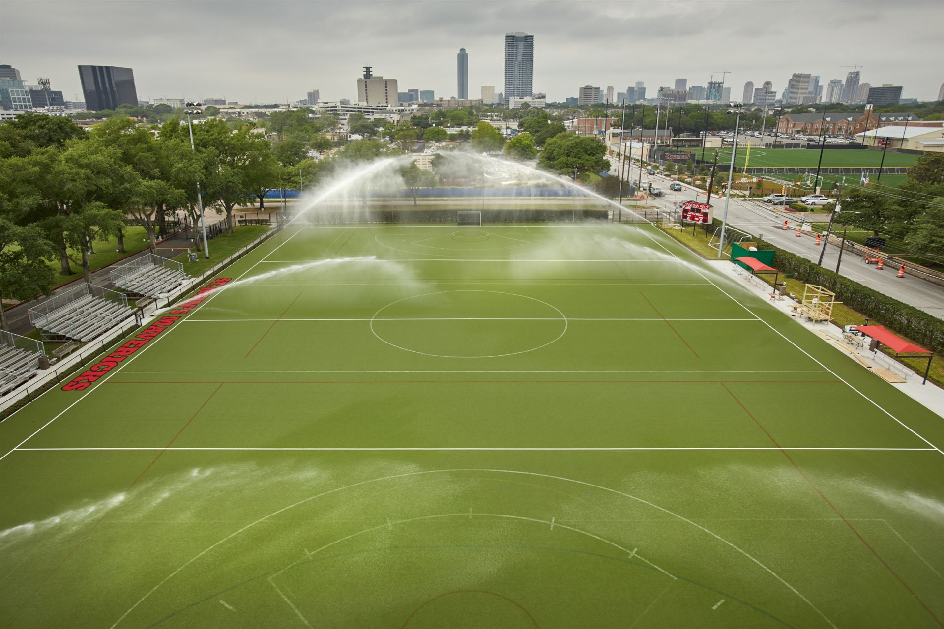 St. John's is one of four schools in the nation to have wet turf Field Hockey fields.