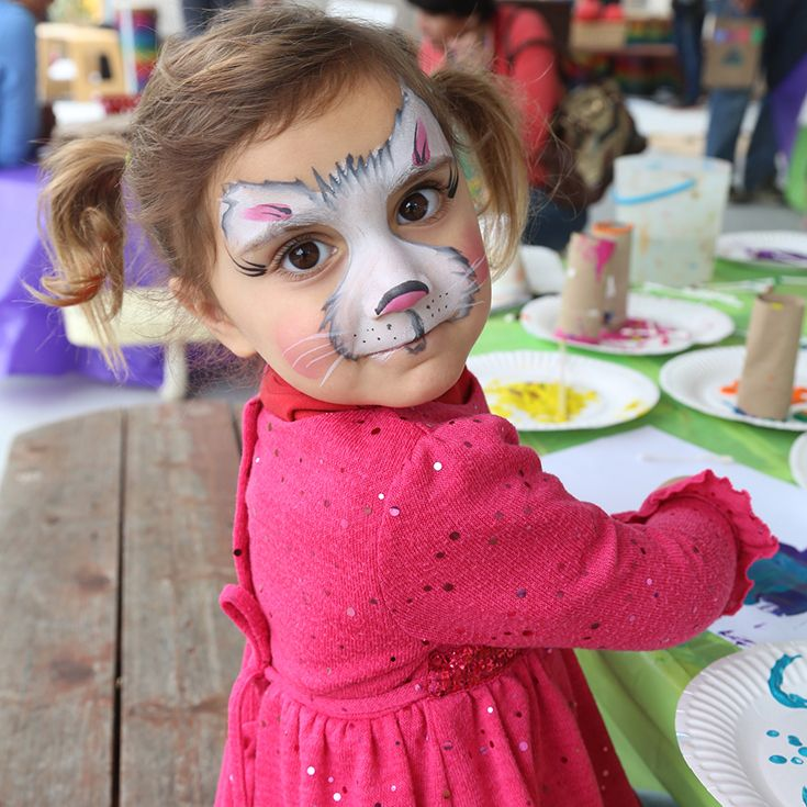 Explore the magic of art and create a masterpiece! Complimentary face painting, included!