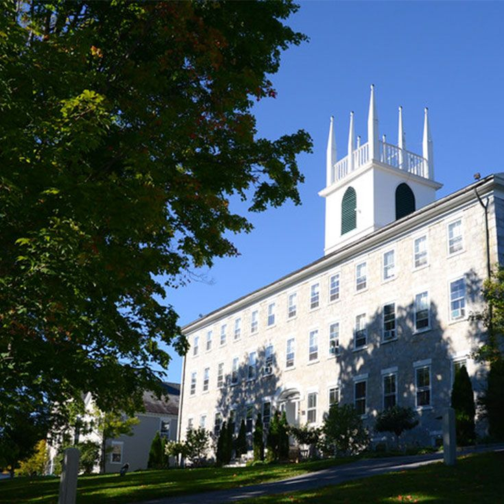 The Seminary building was completed in the spring of 1833 and was one of the largest structures in Vermont at the time. The school opened its doors to 114 young men on May 15th of that year. Just 16 years later in 1849, the school welcomed its first group of young women, 'the 49ers.'