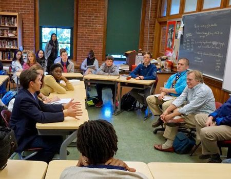Literary Festival included writers from a variety of media visited to talk shop with students
