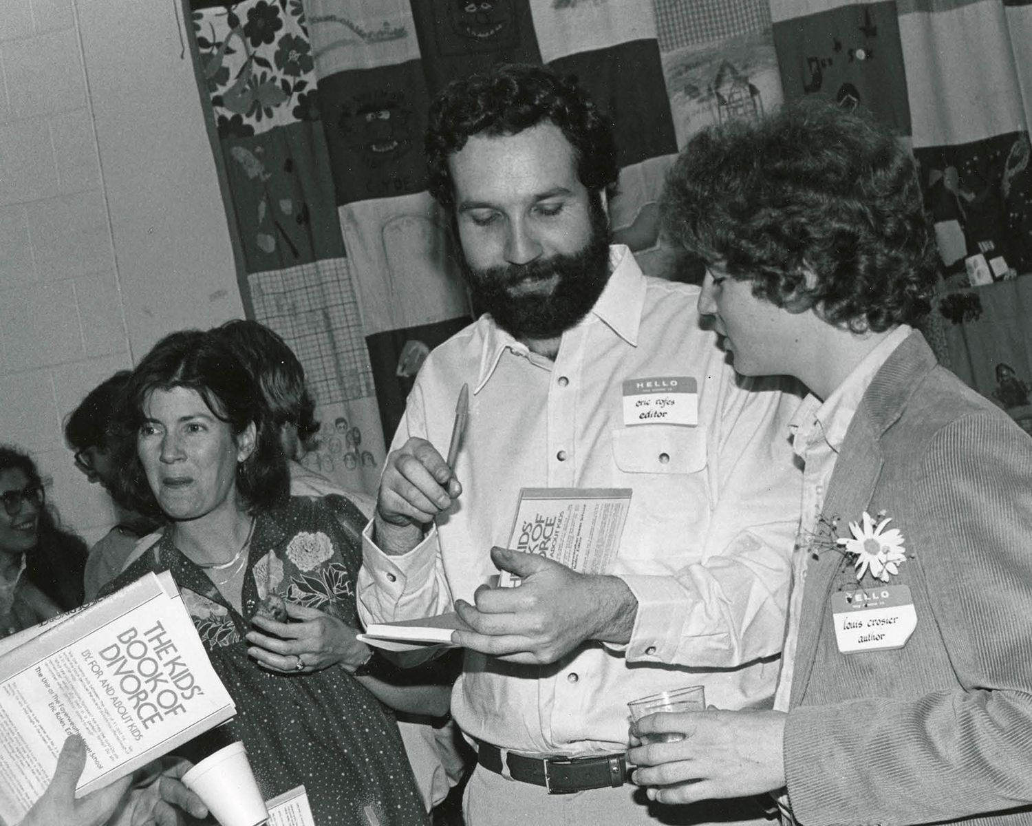 1981: Kids' Book of Divorce Book Release Celebration  Diane Brennan, Eric Rofes, Louis