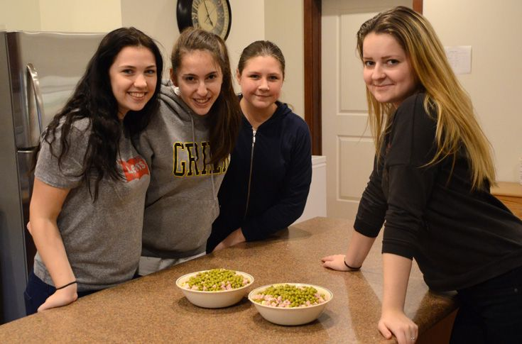 Cottages feature full kitchens that encourage students to cook meals and eat together.