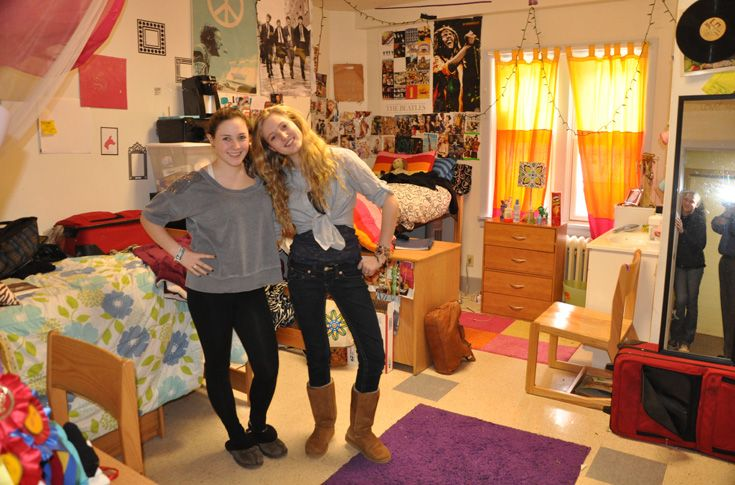 Another example of a student dorm room.