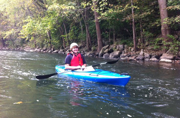 Central Pennsylvania is a great place for students to enjoy outdoor activities like kayaking, hiking, and camping.