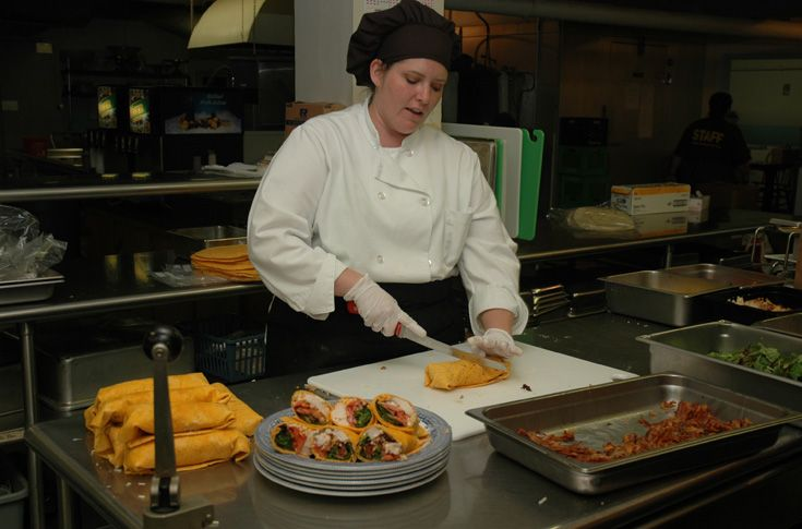 Professionally trained chefs oversee menu culinary preparations.