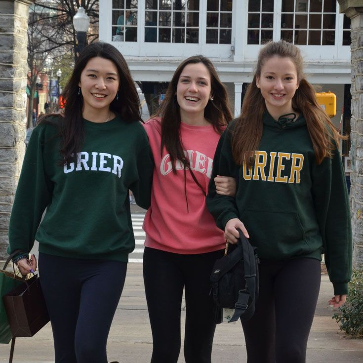 The Grier Store stocks a wide variety of Grier apparel, including t-shirts, sweatshirts, and fitness pants.