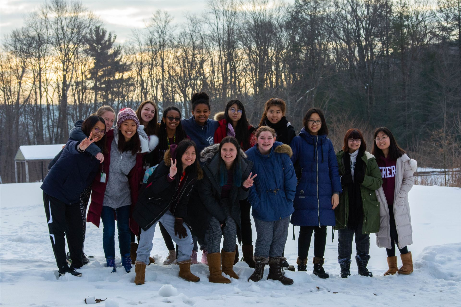 Astronomy Club members enjoy stargazing and winter camping trip at Camp Anderson.