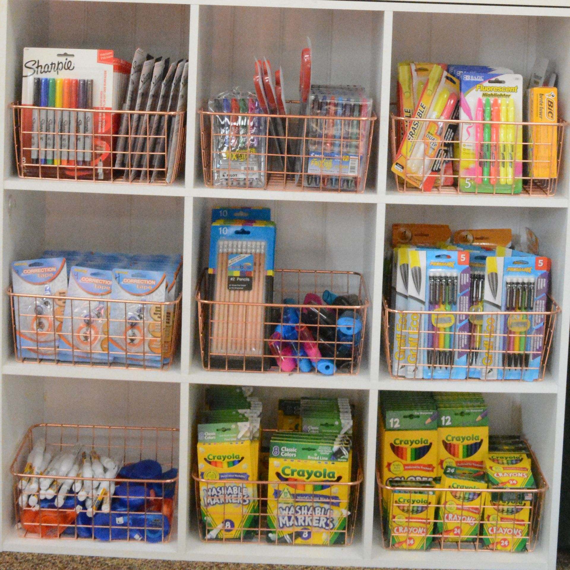 Grier Store stocks the supplies students need for school.