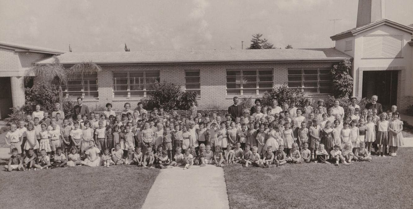 historic photo of Holy Trinity Episcopal Academy