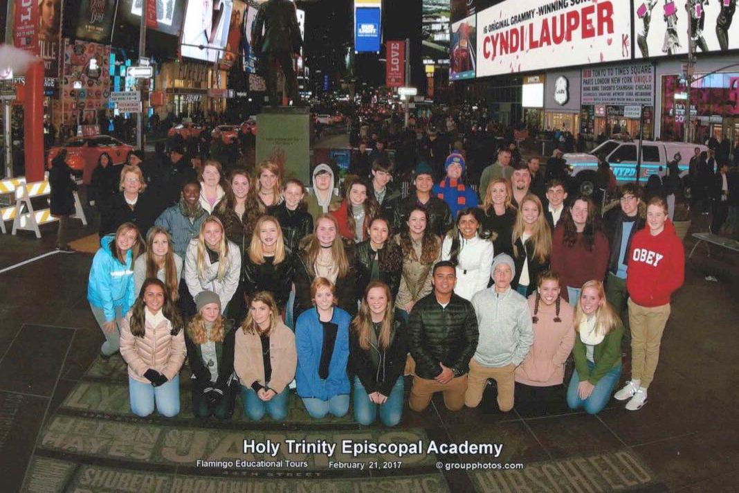 Holy Trinity theatre field trip