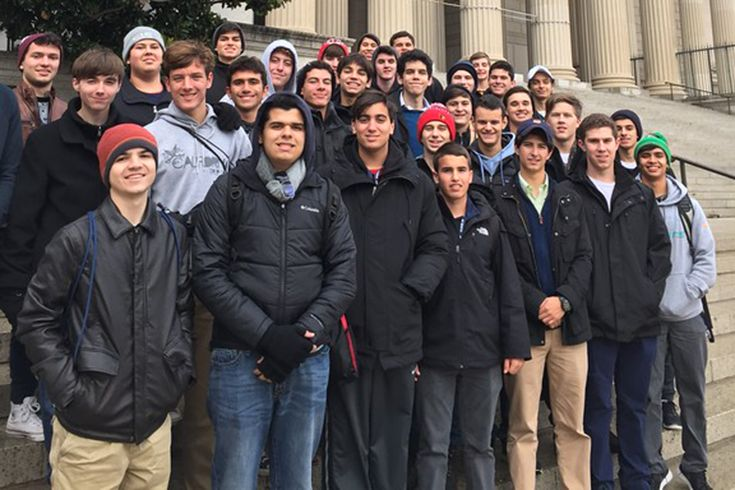 Junior have the opportunity to visit Washington, D.C. with Close Up and Middle School students take part in the Founding of a Nation program.