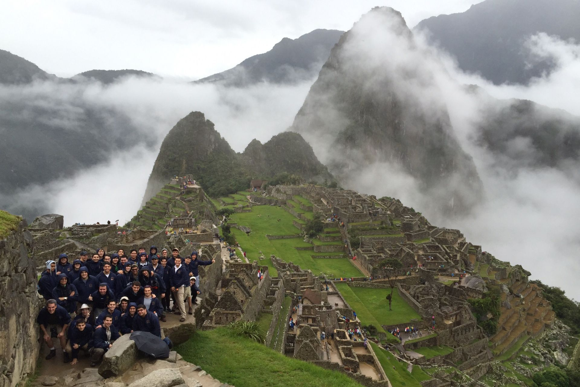 Seniors have the opportunity to travel and visit the ancient Incan ruins of  Machu Picchu.