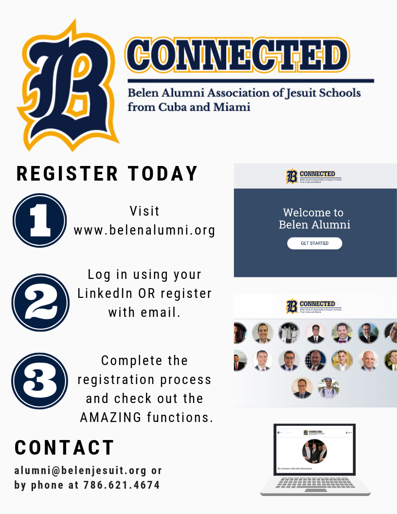 Register to BConnected on www.belenalumni.org and start networking!
