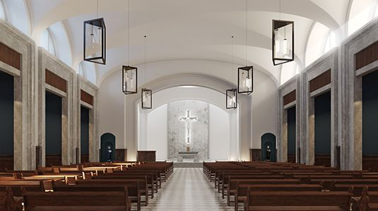 Future Our Lady of Belen Chapel at Belen Jesuit