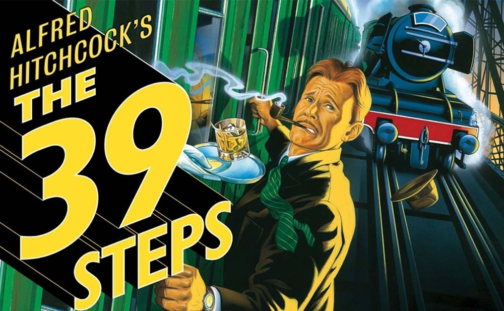 The 39 Steps, January 30 - Feb. 2