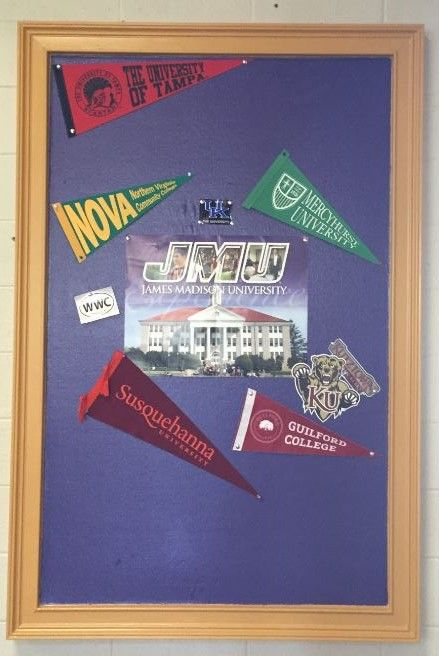 Some of the colleges our Seniors have been accepted to this year!