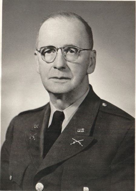 Maj Guy A. Benchoff - Student 1906-1909, Educator 1919-1966