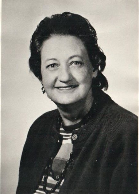 Bernice Funkhouser - Student 1940-1941, Faculty 1941