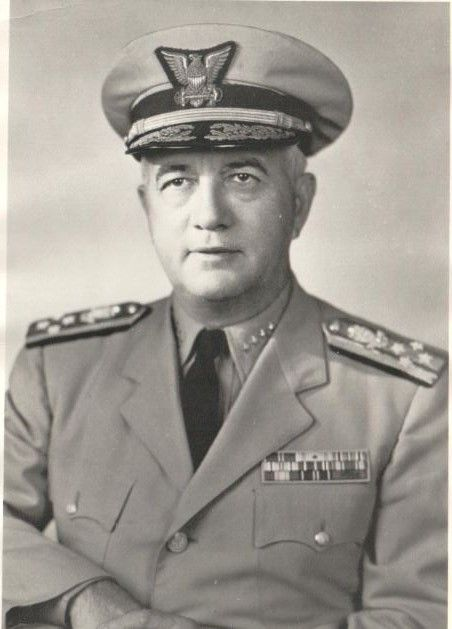 Admiral Alfred C. Mitchell - Student 1915-1918