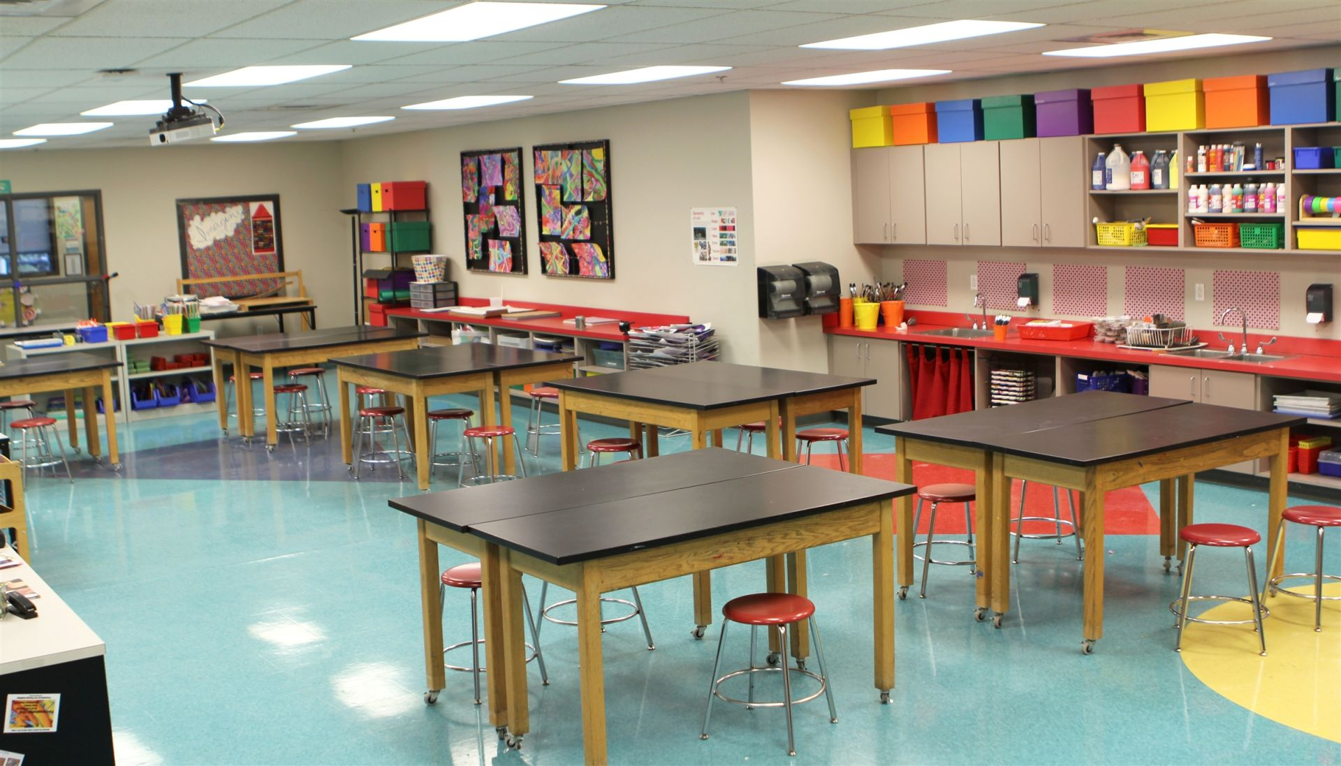 Lower School Art Classroom