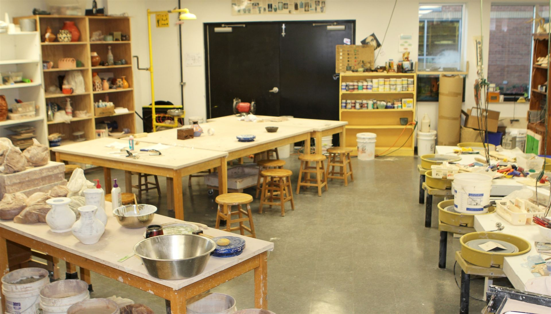 Upper School Ceramics Studio