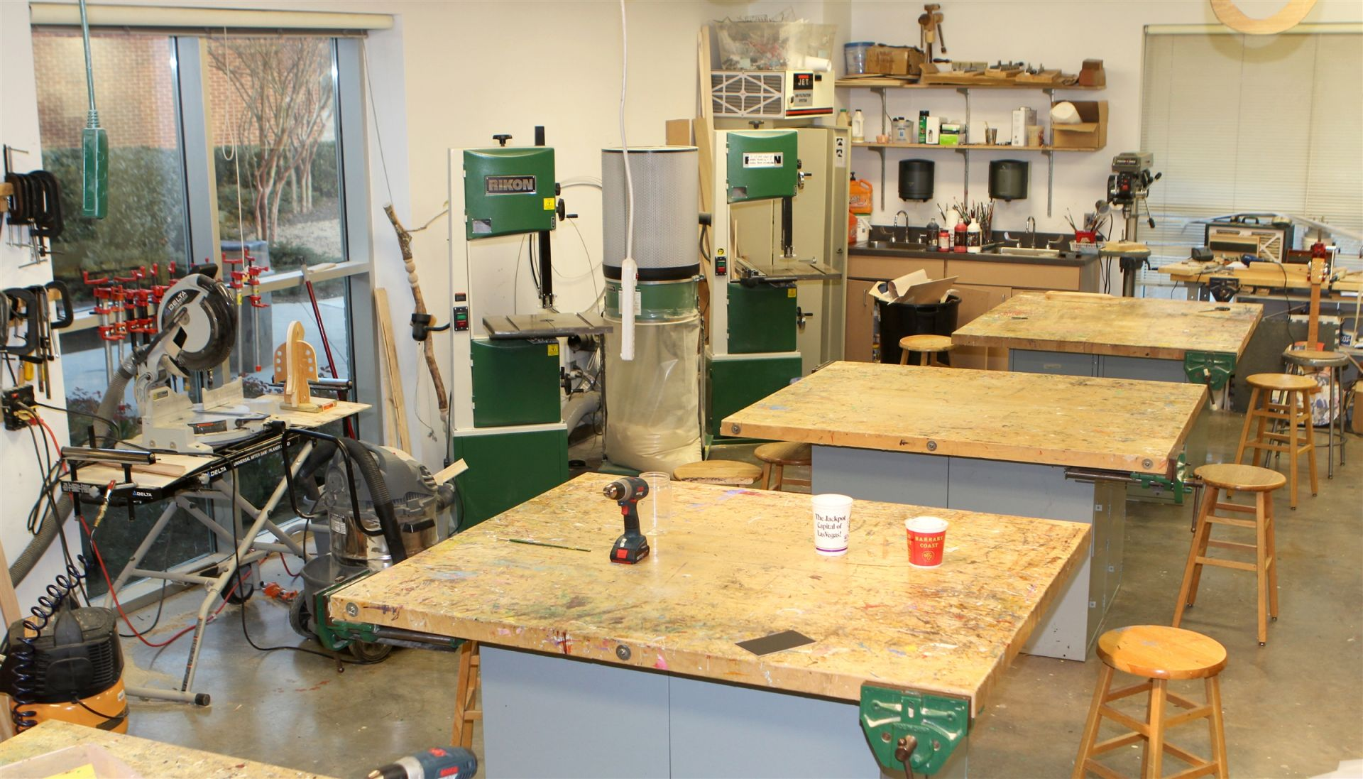 Upper School Woodworking Studio