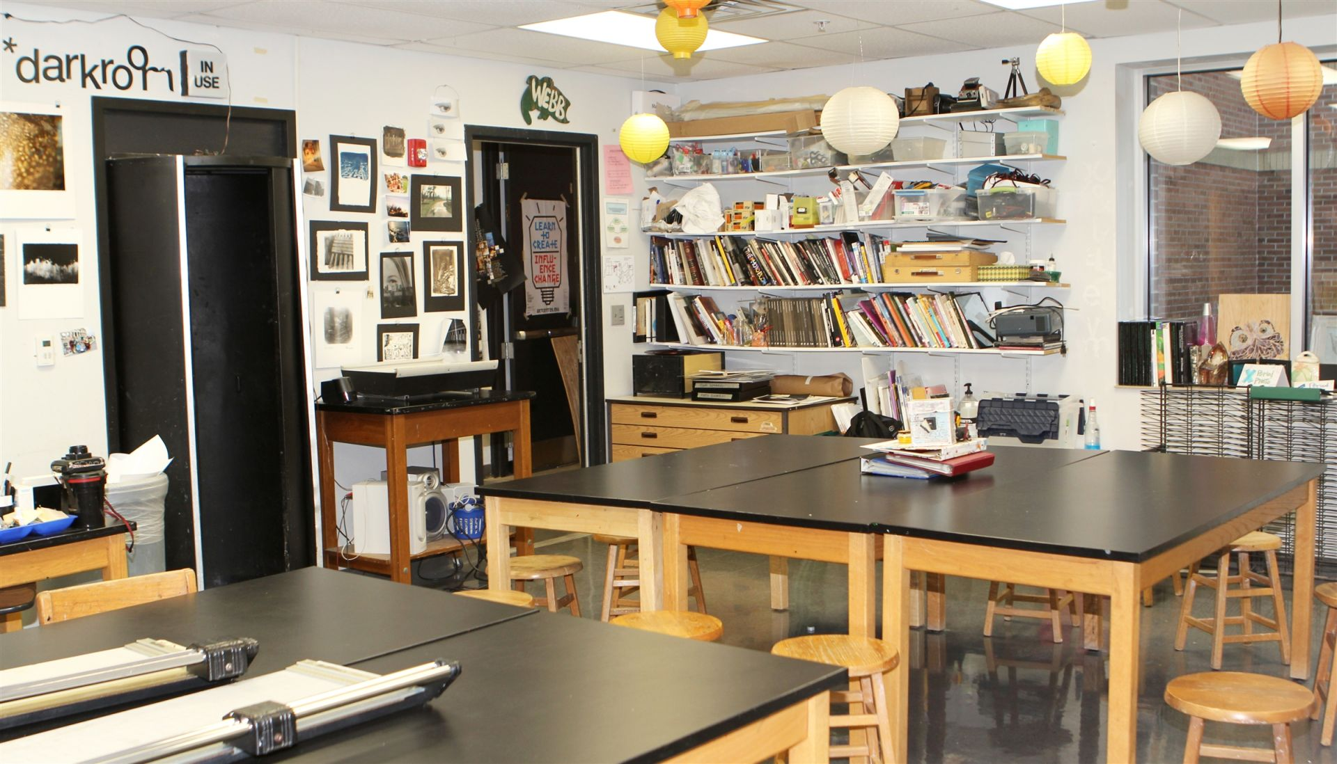 Upper School Photography Classroom
