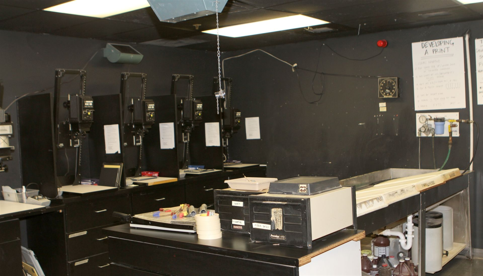 Upper School Darkroom