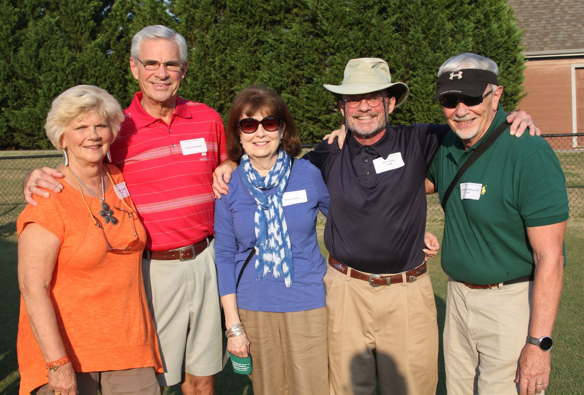 Members of the Class of 1960 at our Spartan Alumni Weekend Tailgate