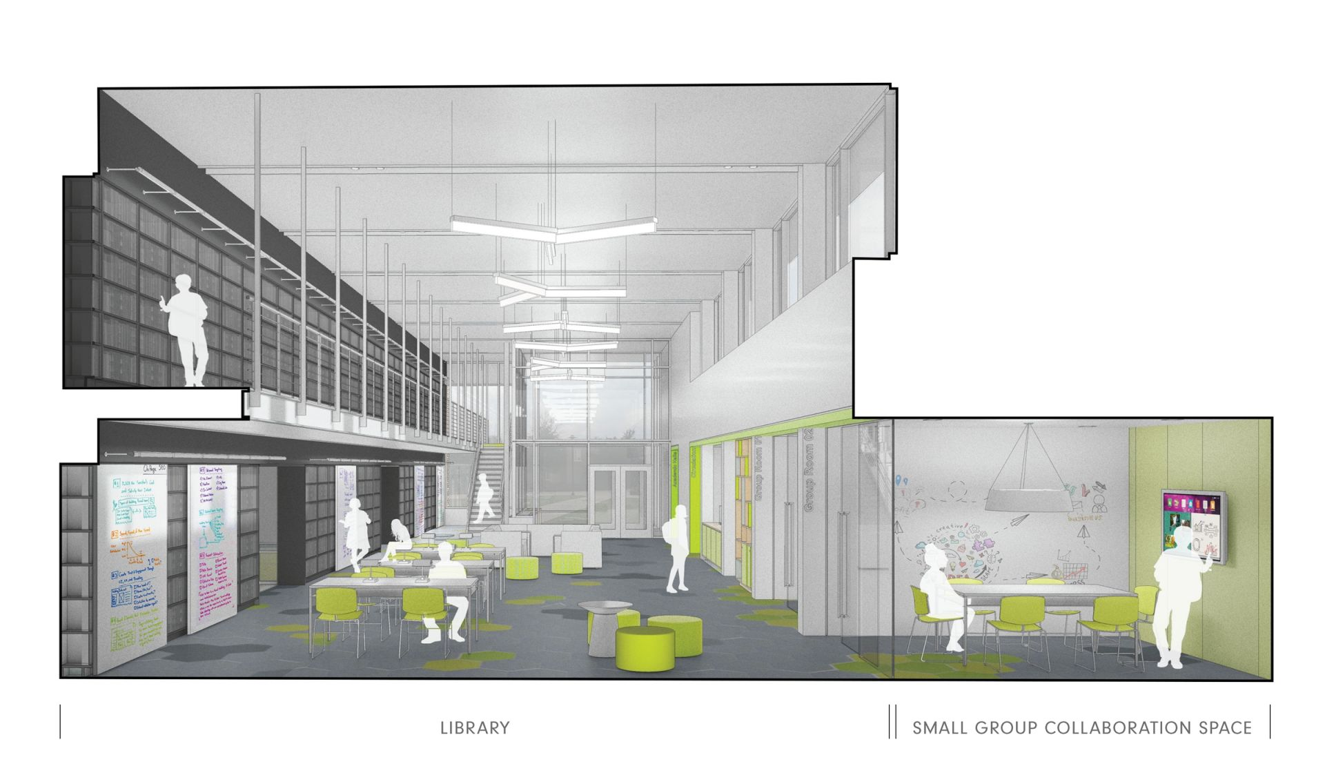 Middle School Innovation Center - Library