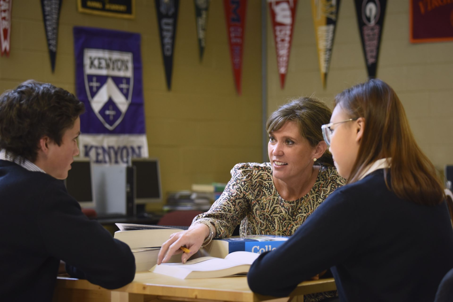 Our students have one-on-one attention from our college counselors, starting with a four-year plan in the 9th grade.