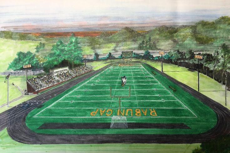 Artistic renderings of the stadium fuel excitement for our athletic programs!
